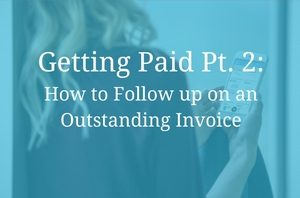 Following up on an Invoice