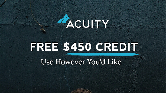 $450 bookkeeping credit