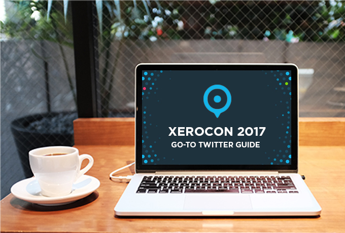 xerocon 2017 twitter guide