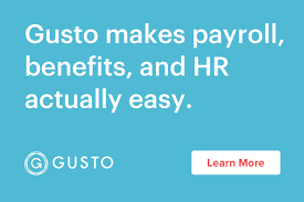 Gusto Payroll, HR, and Benefits