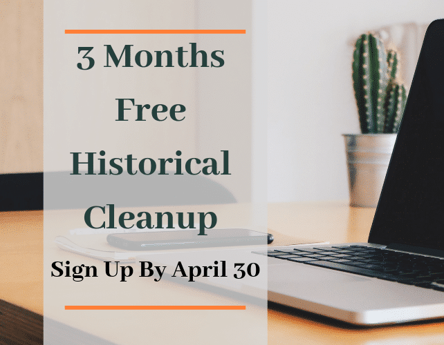 3 Months Free Historical Cleanup (1)