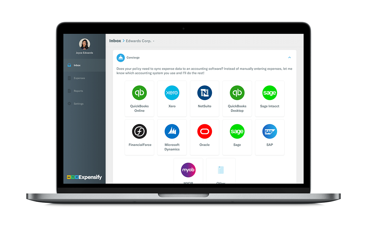 Expensify expense management platform