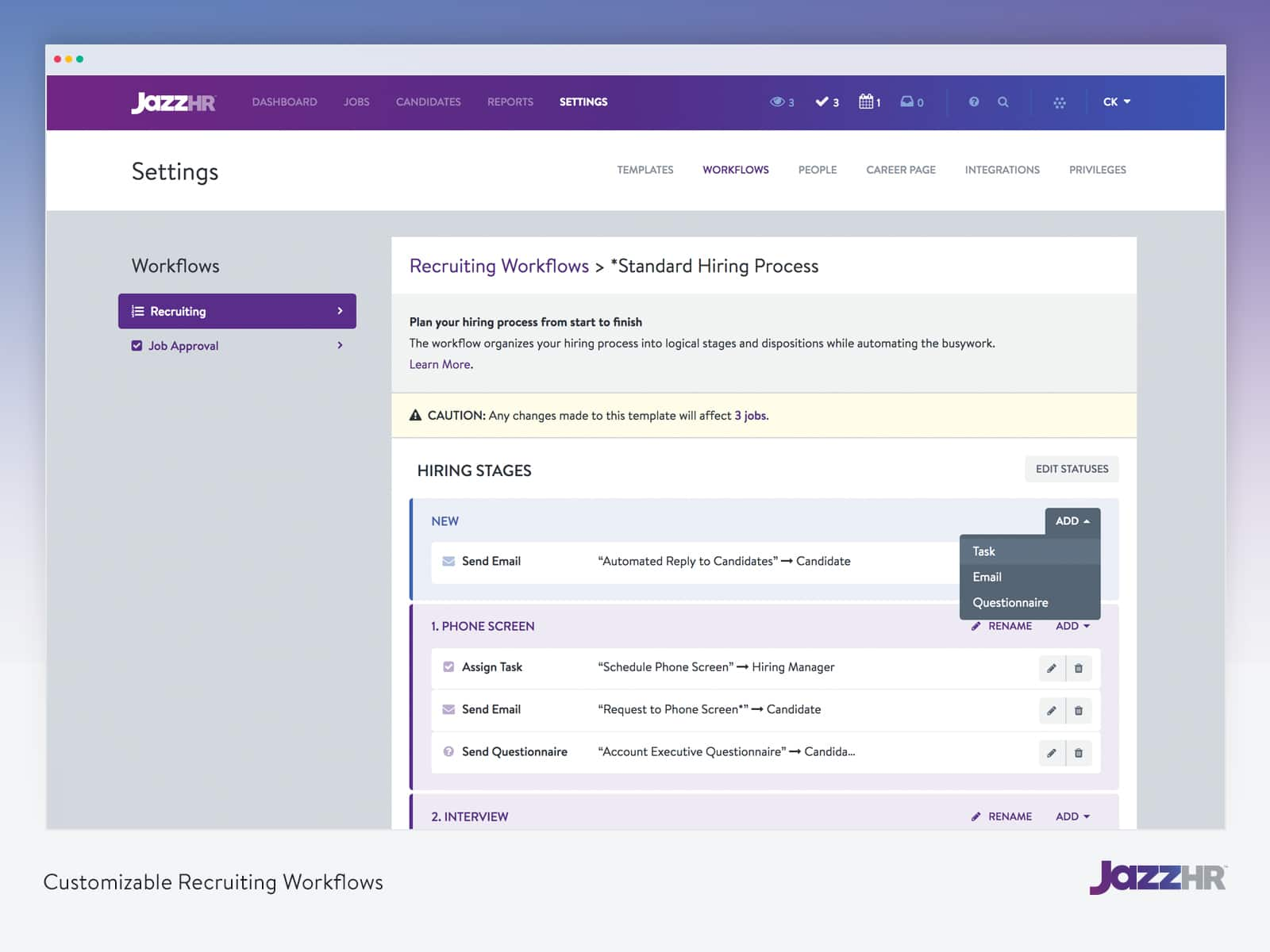 JazzHR Recruiting Software
